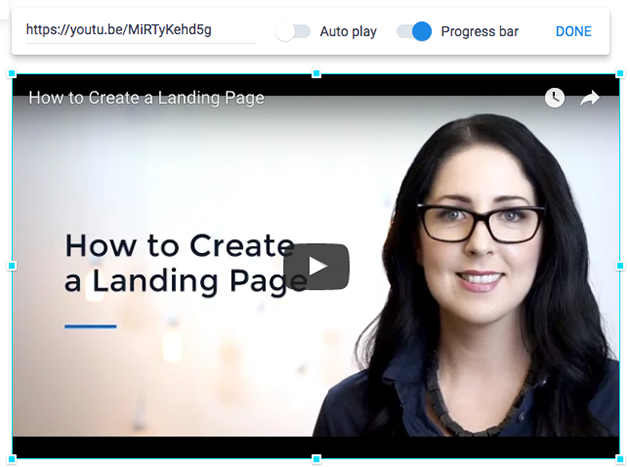Adding Videos to Your Page – Instapage Help Center