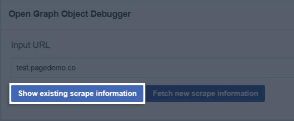 Social Media Sharing (Facebook) – Instapage Help Center