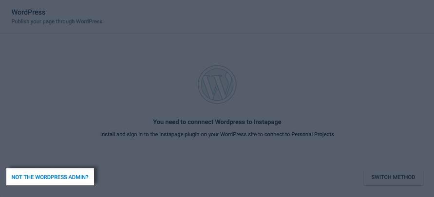 Publishing through WordPress (WordPress Plugin) – Instapage