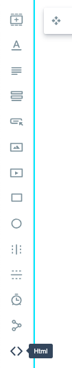 image of the HTML icon from the left sidebar