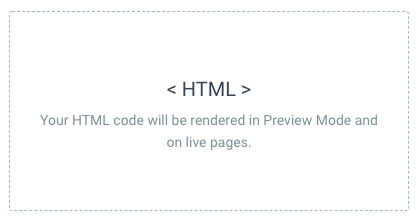 image of the HTML element added to the page
