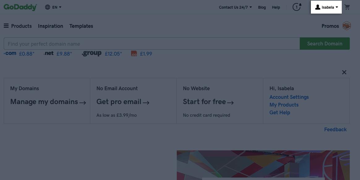 GoDaddy (godaddy com) – Instapage Help Center
