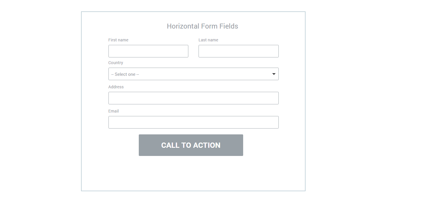 How to add two horizontal fields to your form – Instapage